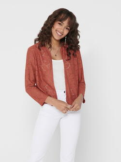 JDY Etruscan Red Tag Cardigan