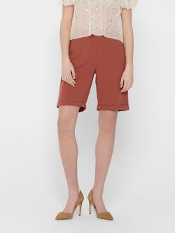 JDY Etruscan Red Catia Shorts