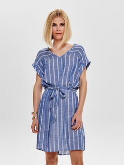 JDY Celestial Blue Stripes Janine Dress