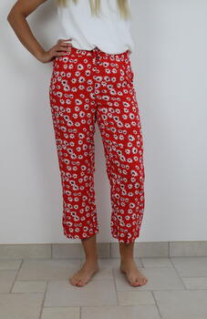 JDY Valiant Poppy Flower Starr life Wide Pants
