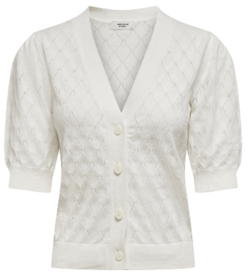 JDY Cloud Dancer Parker Cardigan
