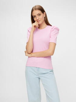 PIECES Pastel Lavendel PCANNA Top