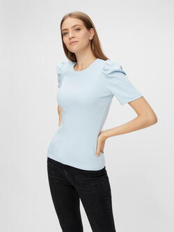 PIECES Cashmere Blue PCANNA Top