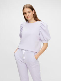 PIECES Purple Heather PCJASSI Top