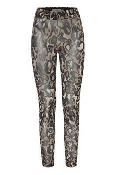 ICHI Cornstalk Multi Print IXMESHU Leggings