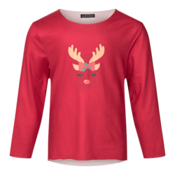 LIBERTÉ X-Mas Red Alma KIDS Top