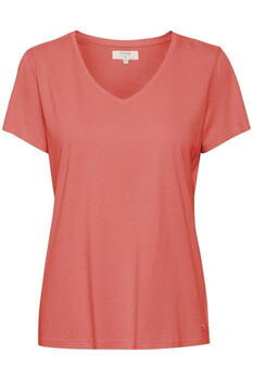 CREAM Peach Echo Naia T-Shirt