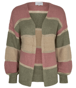 LIBERTÉ Rose Army Stripe Bobbi Cardigan