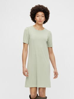 Pieces Green Deep Lichen Kamala Dress