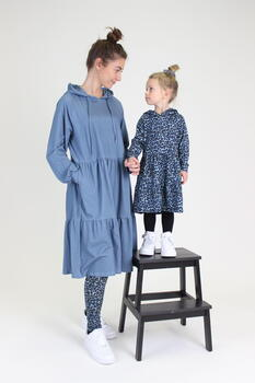 LIBERTÉ Dusty Blue Leo Melissa Kids Kjole