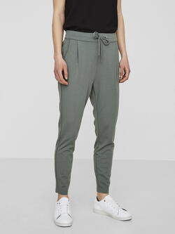 VERO MODA Black VMEVA Coated Pants