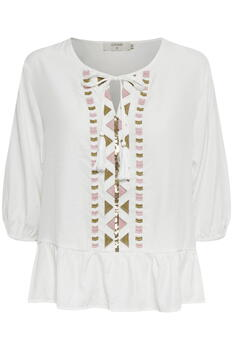 CREAM Snow white CRGinna Bluse