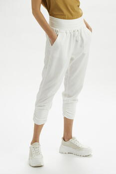 CREAM Pitch Black Wash Nanna Pants