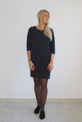 Freequent Salute / Navy Dane Dress