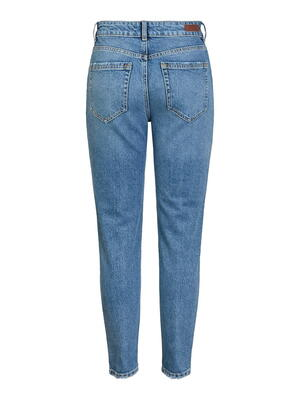 Pieces Blue Slim Mid Mid Mid Mid Croft Jeans