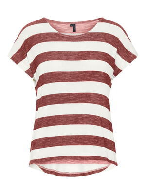 VERO MODA Marsala Snow White Top