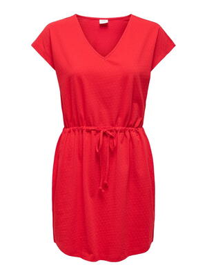 JDY Red Risk Red Life Dress