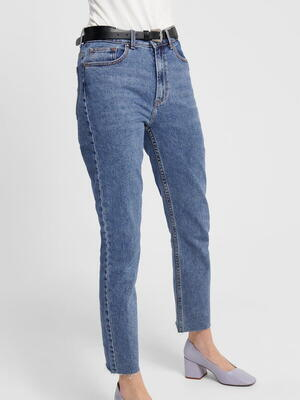 ONLY Mörkblå Denim ONLEMILY Jeans