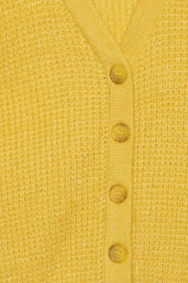ICHI Super Lemon IHDUSTY Strik Cardigan