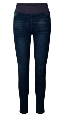 Freequent Mørk Denim Shantal buks