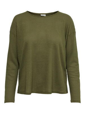 JDY Martini Olive Lillo Knit Blouse