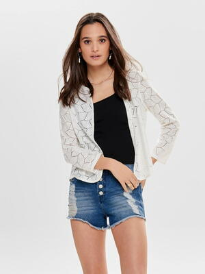 JDY Cloud Dancer Tag Cardigan