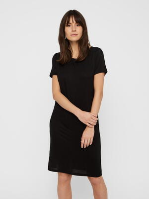 Pieces Black / Black Billo Dress