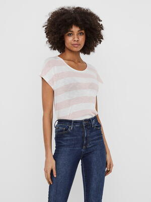 VERO MODA Sepia Rose Snow White Top
