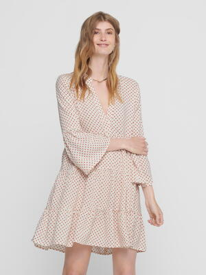 JDY Etruskisk Red Dots Starr Life Dress