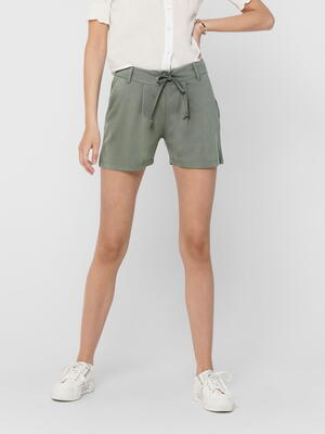 JDY Castor Gray New Pretty Shorts