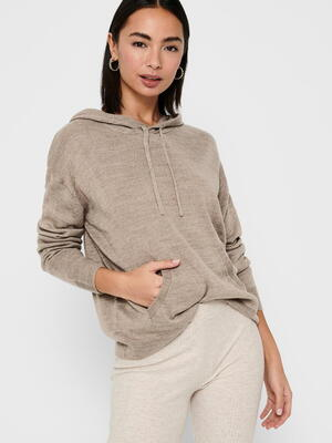 ONLY Camel ONLAUBREE Hoodie