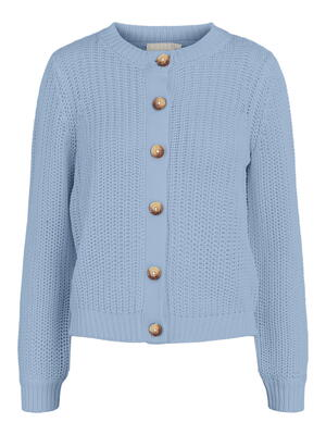 PIECES Kentucky Blue PCPETULA Strik Cardigan