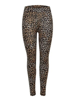 ENDAST Black Leo ONLLIVE Love Leggings