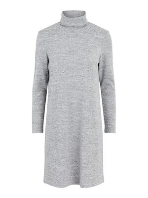 PIECES Light Grey Melange PCPAM Dress