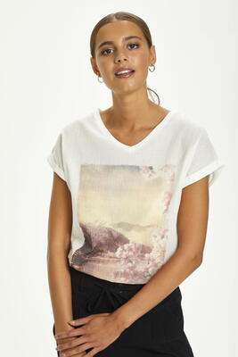 CREAM Birch Lavama T-shirt