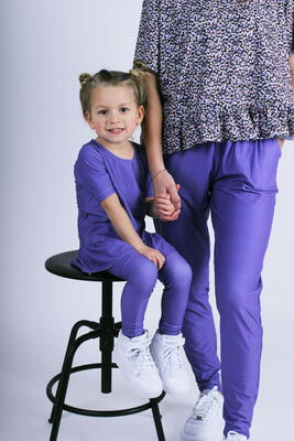 LIBERTÉ Purple Alma KIDS Leggings