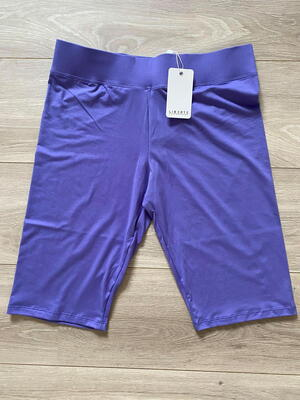 LIBERTÉ Purple Alma City Shorts