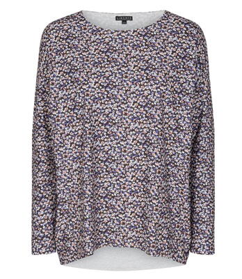 LIBERTÉ Purple Flower Alma Top